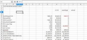 House Renovation Budget Spreadsheet Aljerer Lotgd Com