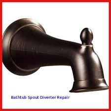 how to fix bathtub spout diverter luxury venetian bronze shower and bathtub spout diverter repair