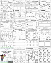 first grade worksheets for spring so many fun math and literacy activities