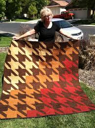25 best Quilts - Herringbone and Houndstooth images on Pinterest ... & Quilt pattern by Tula Pink. Gift for my sis-n-law Kim. Adamdwight.com