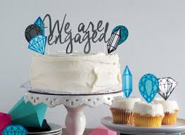 Engagement Party Cake Topper Nyc Event Designer And Florist