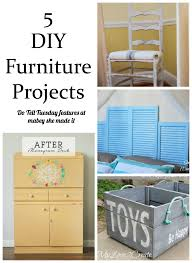 Diy Furniture Projects 5 Diy Furniture Projects Mabey She Made It
