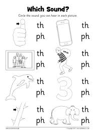 Identify the pictures and paste them in the correct box. Which Sound Worksheet Th And Ph Sb12237 Sparklebox