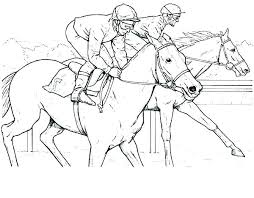 Free Horse Coloring Pages Salemobileinfo