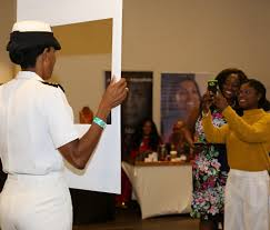 Navy Captain Janice Smith now head of the Military Sealift Command Atlantic  (MSCLANT) — Jamaican Women of Florida