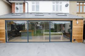 grey aluminium sliding doors and grey windows aluminium lift and slide doors