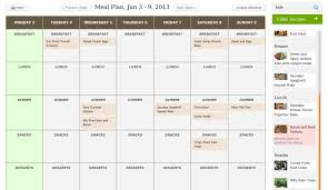 Meal Planning Calendar Pdfmaster Cleanse Diet Indiathe Paleo