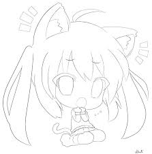 Chibi Coloring Remarkable Cute Coloring Pages Anime Coloring Pages
