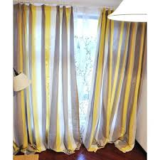 affordable linen yellow brown white study striped curtains grey and white striped curtains decorating grey and