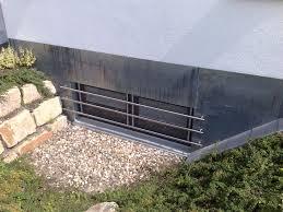 Kellerschacht Fenstergitter Aus Edelstahl Einbrecher Haben Immer