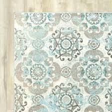 blue and gray area rugs teal accent rug incredible beige ideas for green grey