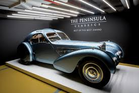 A subsequent owner sent the car back to bugatti in 1939 to receive a supercharger and make the car a true 57sc. 40 Million Bugatti Type 57 Sc Atlantic Wins Peninsula Classics Best Of The Best Award