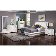 Dimora Piece Queen Upholstered Bedroom Set White American Ikea Click To  Change: Full Size ...