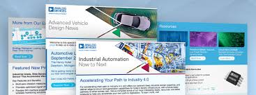 News Letters Adi Newsletters Analog Devices