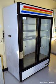 used true manufacturing glass door merchandiser refrigerator