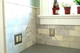 tile edge trim ideas marble subway bathroom floor wall edging tile edge trim ideas