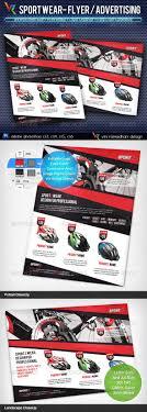 sport wear flyer advertisement by vinirama graphicriver sport wear flyer advertisement commerce flyers