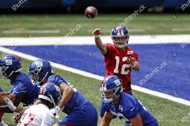 New York Giants quarterback Colt McCoy ...