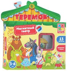 Vladi Toys Магнитный театр <b>Теремок</b> — купить в интернет ...