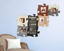 puzzle piece wall decor 12 your family and friends together with this art there s room