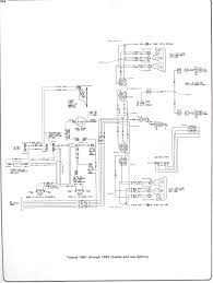 Plete 73 87 wiring diagrams 81 87 chassis and rear lighting chevy headlight switch wiring diagram for 1982