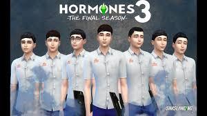 สร้างตัวละคร Hormones 3 The Final Season พร้อมชุดนักเรียนชาย Part1 - YouTube
