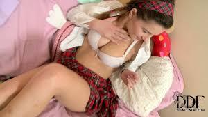 Russian schoolgirl Lara stripping Pornsharing