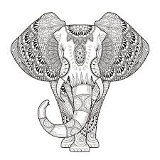 Animal Mandala Coloring Pages Online With Adult Free And Printable