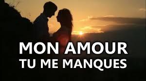 Message Damour Triste Tu Me Manques Mon Amour
