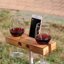 fresh wooden wine glass holder com lieomo handmade outdoor phone dock speaker dark wood rack and bottle charm plan box under cabinet shelf hanger
