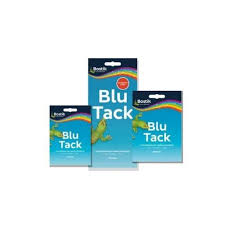 bostik blu tack gray original re usable