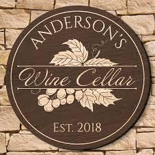 image endearing wine themed kitchen wine bottle candelabra antiqued finish personalized wine cellar sign w