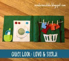 no sew laundry page la lavanderia formato quiet book non serve cucire