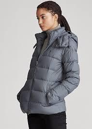 Ralph Lauren Belmont Down-fill Jacket In Combat Grey | ModeSens