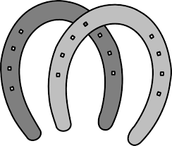 Horse shoe clipart image horseshoe coloring page - WikiClipArt