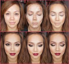 contour your face for your l party