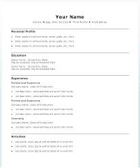 Easy Resume Examples Inspiration Easy Resume Samples Netdoma