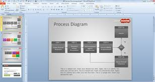 3d Flow Chart Powerpoint Free Process Flow Diagram Template For Powerpoint