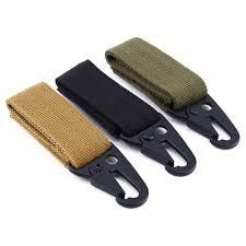 popular belt key hook buy cheap belt key hook lots from belt carabiner high strength nylon key hook molle webbing buckle hanging system belt buckle hanging camping hiking
