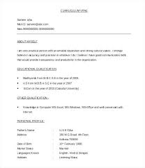 Resume Format Word Document Free Download Resume Formats Word Resume Format Word Resume Templates Word Doc