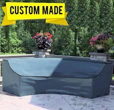 custom made curved sofa covers waterproof