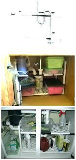 undersink storage under sink cabinets