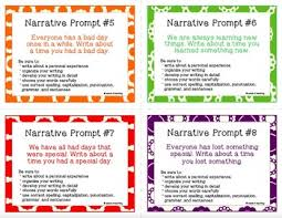 Personal Narrative Writing Prompts Task Cards By Seeds4teaching Tpt