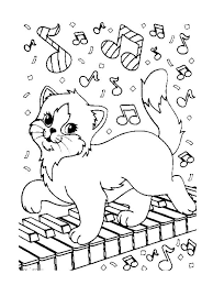 Coloring Page Musical Instruments Kids N Fun Music Coloring