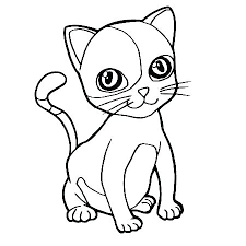 Cute Kitty Cat Coloring Pages Cute Kitty Coloring Pages Cute Cat