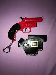 Flare guns allow players to summon their own care package planes, which include two care package weapons, a single level 3 armor (helmet or vest), and normal care package supplies. Pubg Flare Gun Keychain Toys Games Bricks Figurines On Carousell