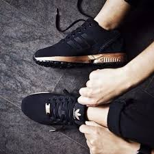 adidas zx flux black and gold womens. adidas zx flux metallic copper core black/bronze rose gold limited edt. s78977 zx black and womens a