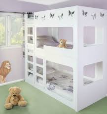 Kids Triple Bunk Bed