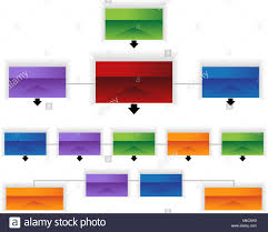 An Image Of A 3d Corporate Organizational Chart Infographic