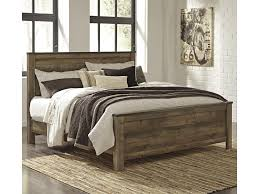 rustic look furniture. Signature Design By Ashley TrinellKing Panel Bed Rustic Look Furniture